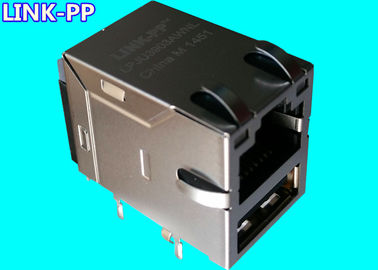 MIC24U1C-6131W-LF3 / 7497011611 Replacement Rj45 With USB LPJU3101AONL