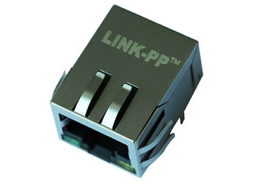 China Zócalo IEEE802.3at de Rj45 Gigabit Ethernet con el conector LPJG4926GENL de POE+ distribuidor